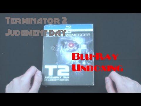 Terminator 2: Judgment Day Skynet Edition Blu-Ray UNBOXING