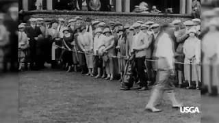 1923 U.S. Open Vignette