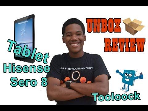 UNBOX-REVIEW TABLET HISENSE SERO 8