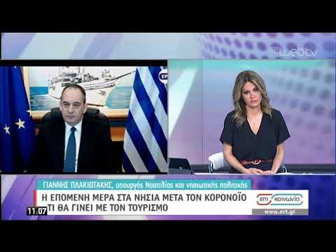 Γ. Πλακιωτάκης: Έχουμε λάβει όλα τα αναγκαία μέτρα σε όλα τα λιμάνια | 14/03/2020 | ΕΡΤ