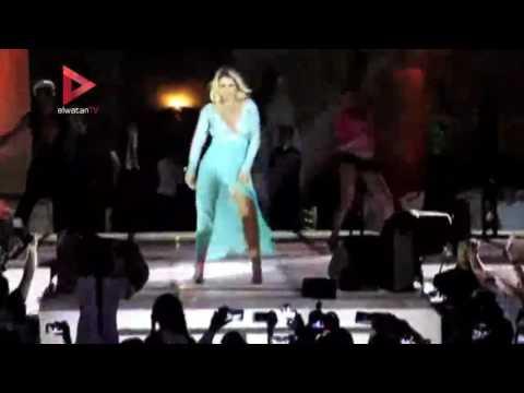 العرب اليوم - شاهد: كاتيا تغنّي السلام وتنشر البهجة في مهرجان ضخم