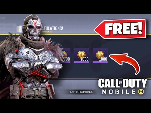 *NEW* CALL OF DUTY MOBILE - how to get FREE CP in COD Mobile! FREE COD POINTS 2021 (Season 4)