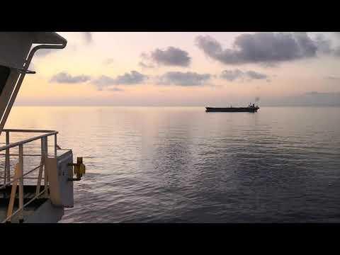 Хотите увидеть настоящий штиль на море?