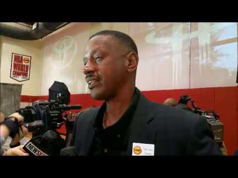 Otis Thorpe - Houston Rockets Championship Reunion