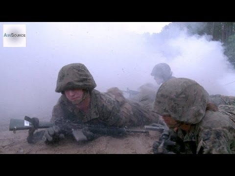 boot - U.S. Marine recruits with Lima Company, 3rd Battalion, Recruit Training Regiment, and Papa Company, 4th Battalion, Recruit Training Regiment, Marine Corps Re...