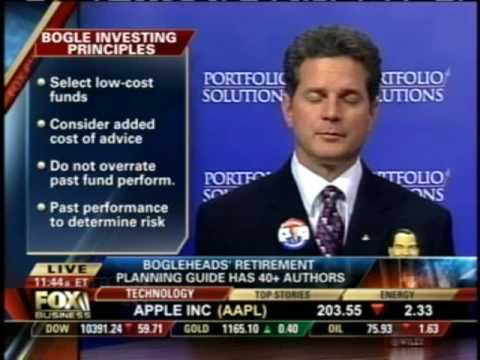 Rick Ferri on Fox Business – Bogleheads' Guide to Retirement Planning