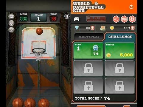《世界籃球王 World Basketball King》手機遊戲玩法與攻略教學!