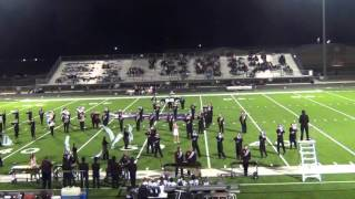 Bridgeport (TX) United States  city images : 10/29/2015 - Bridgeport Mighty Marching Maroon - halftime at Anna, TX