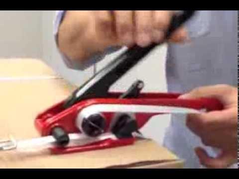 Spanngerät Umreifungsband -- Bedienungsanleitung