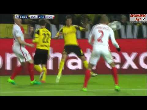 Gol Kagawa Borussia Dortmund vs Monaco 2 3 2017