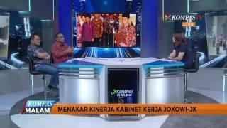 Pada dialog ini Sekretaris Jenderal Kementerian Perdagangan, Karyanto Suprih dan Peneliti Senior CSIS, J Kristiadi akan kembali membahas tentang sinyal-sinyal perombakan yang kembali hadir dari ucapan presiden Joko Widodo. Namun di akhir segmen ada pernyataan dari Jokowi yang menegaskan tidak adanya perombakan namun hanyalah evaluasi.