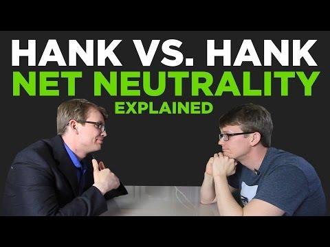 Hank vs. Hank%3A The Net Neutrality Debate in 3 Minutes