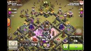 Download Lagu Clash of Clans - [TH9] Clan War ANTI GOWIPE BASE. 0% DAMAGE ON TOWN HALL!! EPIC DEFENSE Mp3