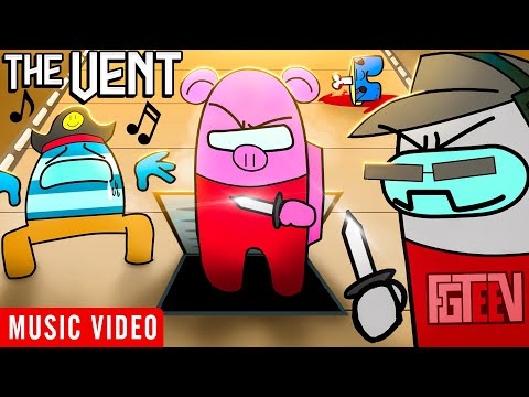THE VENT 🎵 FGTeeV Among Us Music Video feat. Raptain Hook