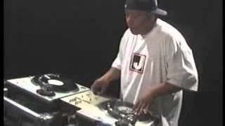 DJ Babu Skratching