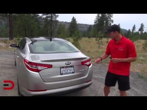 2013 Kia Optima Hybrid DETAILED Review on Everyman Driver