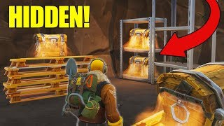 *NEW* Secret Loot Tunnels FOUND In Tilted Towers! Fortnite - Battle Royale!