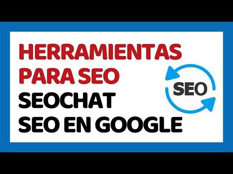 Herramientas SEO Gratis 2017 - SEO Chat