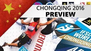 Chongqing Bouldering World Cup 2016 | Preview by OnBouldering