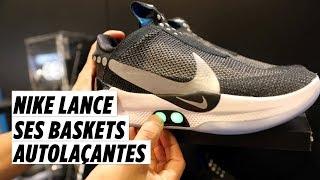 Adapt BB : Nike lance ses baskets autolaçantes