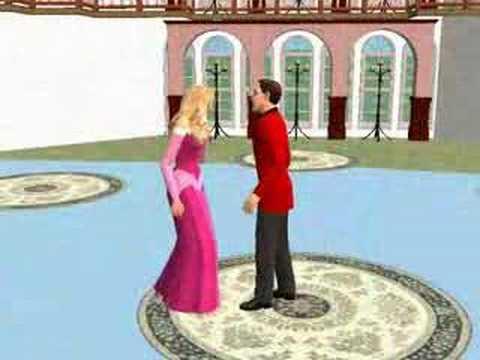 Princesas Disney; Música - La bella y la bestia [Los sims 2]