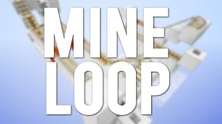 Minecraft: The Minecart Mine Loop System [Day 8]