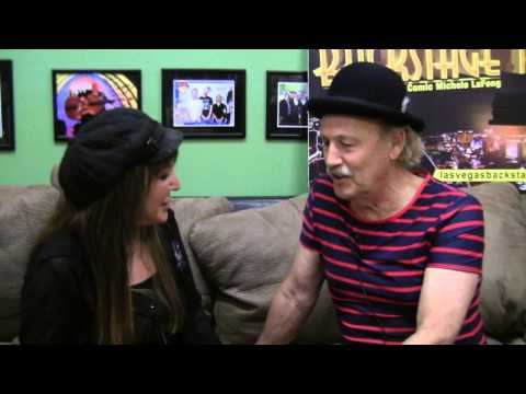 Getting Really Personal with Comedian Gallagher Backstage at The Tropicana LV