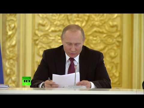 Путин о переданном ему постановлении суда Волосы дыбом встают