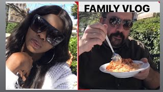 WEEKEND INTERRACIAL FAMILY VLOG/LIVING IN ATHENS GREECE/HAVE LUNCH WITH US