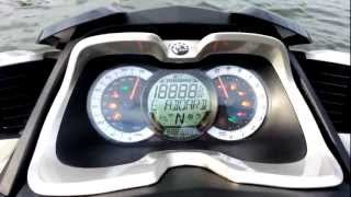 8. Sea Doo GTX Limited iS 255 dashboard