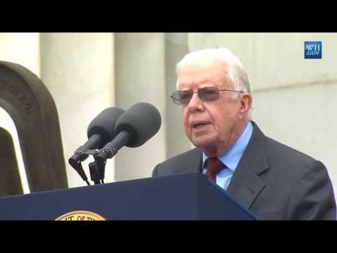 thedailyconversation - Former President Jimmy Carter speaks on the 50th Anniversary of the March on Washington. Subscribe to The Daily Conversation http://bit.ly/WZnLnd Join the co...