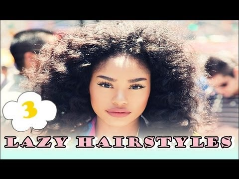 My Three Favorite Lazy Hairstyles