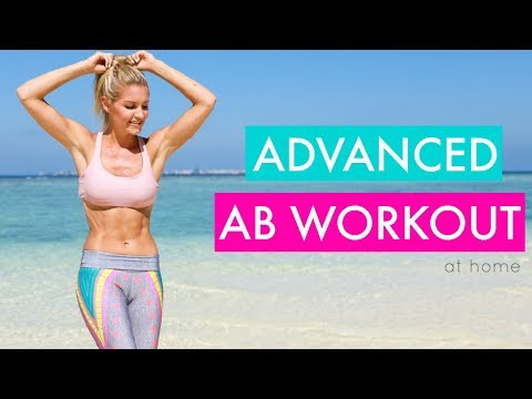 Advanced Abs - 10 MINUTE SIX PACK WORKOUT | Rebecca Louise