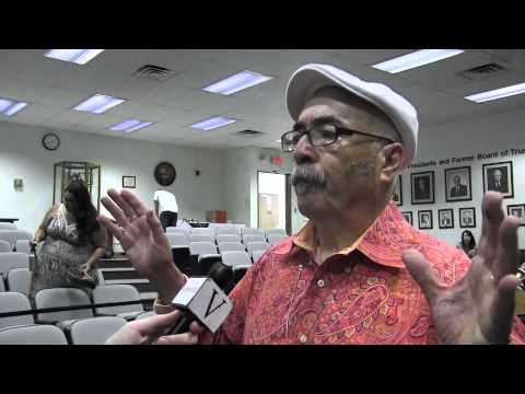 ViewpointsofRCC - Riverside City College Viewpoints interviews Juan Felipe Herrera at Riverside City College following a reading session with students and faculty on May 22. H...