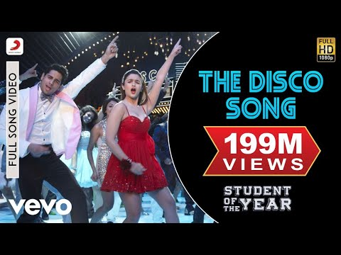 Student Of The Year – The Disco Song Video | Alia Sidharth Varun