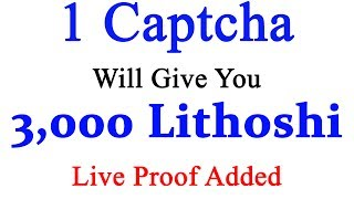 Website Link:- http://linkshrink.net/7EgTu1    Hi friends welcome to Technic Tech channel and today I am going to share  1 Captcha will give you 3,000 Lithoshi  Live Payment proof Added  Earn free Lite coin [ LTC ]. This is the one of the best way to earn money online without work.******************************************************************JOIN Technic Tech Whatsapp Group  : https://chat.whatsapp.com/E1WSGkIMN551y5CzoEz2ep******************************************************************Like My Facebook Page :- https://www.facebook.com/TechnicTechFollow Me On Google+ :- https://plus.google.com/b/111856524282932590081Subscribe Me :- https://www.youtube.com/channel/UCn7tQqwYbs6ZLzhEN76uZ-A?sub_confirmation=1