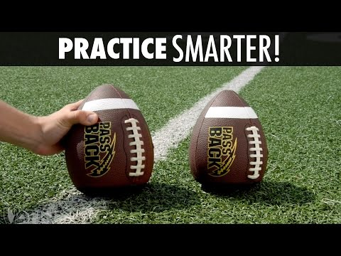 Train Smarter with the PassBack Football