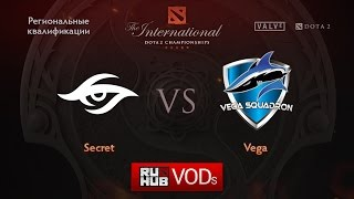 Secret vs Vega, game 1