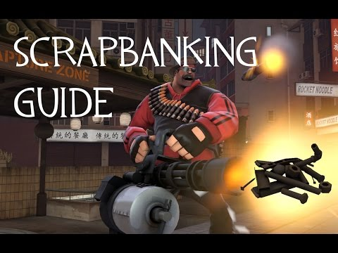 TF2 Trading: How to do Scrap Banking!