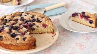 Bourbon and Brown Sugar Cake with Berries - Sweet Talk with Lindsay Strand by Everyday Food