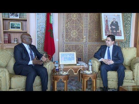 السيد بوريطة يستقبل وزير خارجية غينيا الإستوائية حاملا رسالة إلى جلالة الملك