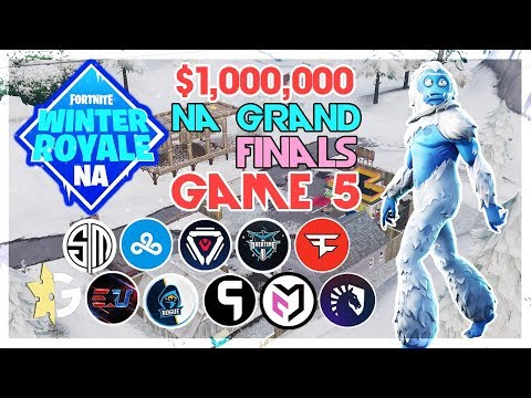 Video $1,000,000 🥊NA Winter Royale Grand Finals🥊 Game 5 (Fortnite) download in MP3, 3GP, MP4, WEBM, AVI, FLV January 2017