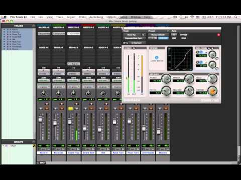 Mixing Drums - Dynamics - Isolating the Top Snare Drum Mic
