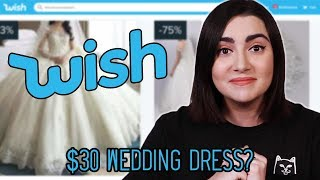 Video I Tried Wedding Dresses From Wish MP3, 3GP, MP4, WEBM, AVI, FLV Maret 2019