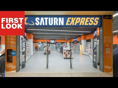 Saturn Express: In diesem Saturn gibt es keine Kass ...