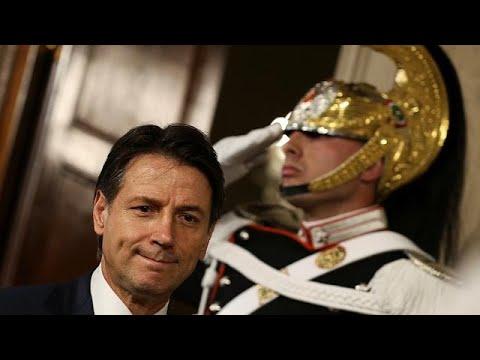 Ιταλία: Παρέδωσε την εντολή σχηματισμού κυβέρνησης ο Κόντε…