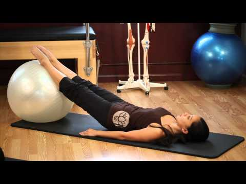 Upside-Down Pilates – Exercise Ball – Lesson 53 – Full 30 Minute Pilates Workout – HD