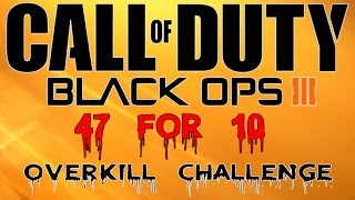FUNNY BUNNS,Black ops 3,gameplay of me going for the overkill challenge,its a lot of fun but not easy,see you soon and subscribe for more thanks