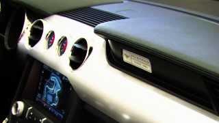 Yeni 2014 Ford Mustang iç mekan tasarım videosu // ototest.tv