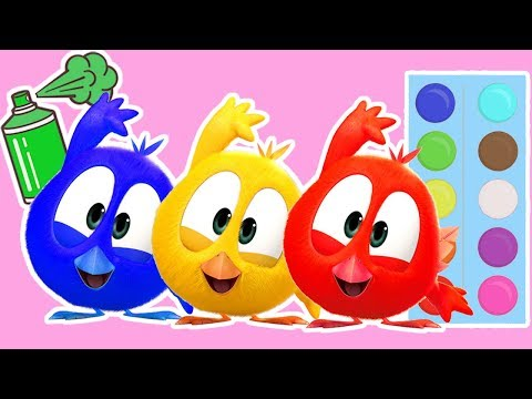 Where is Chicky Funny Chicky Chicky Français Dessin Animé Pour Enfant  Learn Colors with Funny
